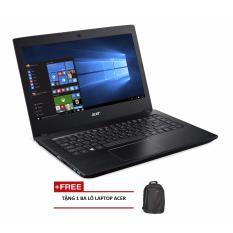 Laptop ACER Aspire E5-475-31KC NX.GCUSV.001 i3-6006U/4G/500G/14″ (Xám) + Tặng 1 balo laptop ACER – Hãng phân phối chính thức