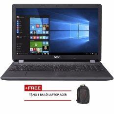 Laptop Acer Aspire E5-575G-37WF NX.GDWSV.006 15.6inch (Đen) + Tặng 1 Balo laptop ACER – Hãng phân phối chính thức
