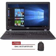 Laptop Acer Aspire E5-575G-39QW NX.GDWSV.005 15.6inch + Tặng 1 Ba lô laptop ACER – Hãng phân phối chính thức (Đen)