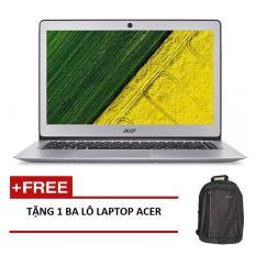 Laptop Acer Aspire SF314-52-39CV NX.GNUSV.007 i3-7130U/4G/256GSSD/W10SL/14FHD (Bạc) + Tặng 1balo laptop ACER – Hãng phân phối chính thức