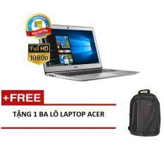 Laptop Acer Swift SF314-52-55UF NX.GQGSV.002 i5-8250U/4G/256GSSD/14FHD/W10Home (Bạc) + Tặng 1balo laptop ACER – Hãng phân phối chính thức