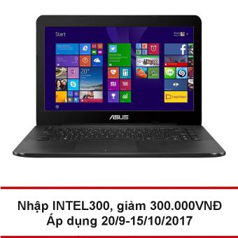Laptop Asus X454LA-WX292D 14.0 inch (Đen) - Hãng phân phối chính thức