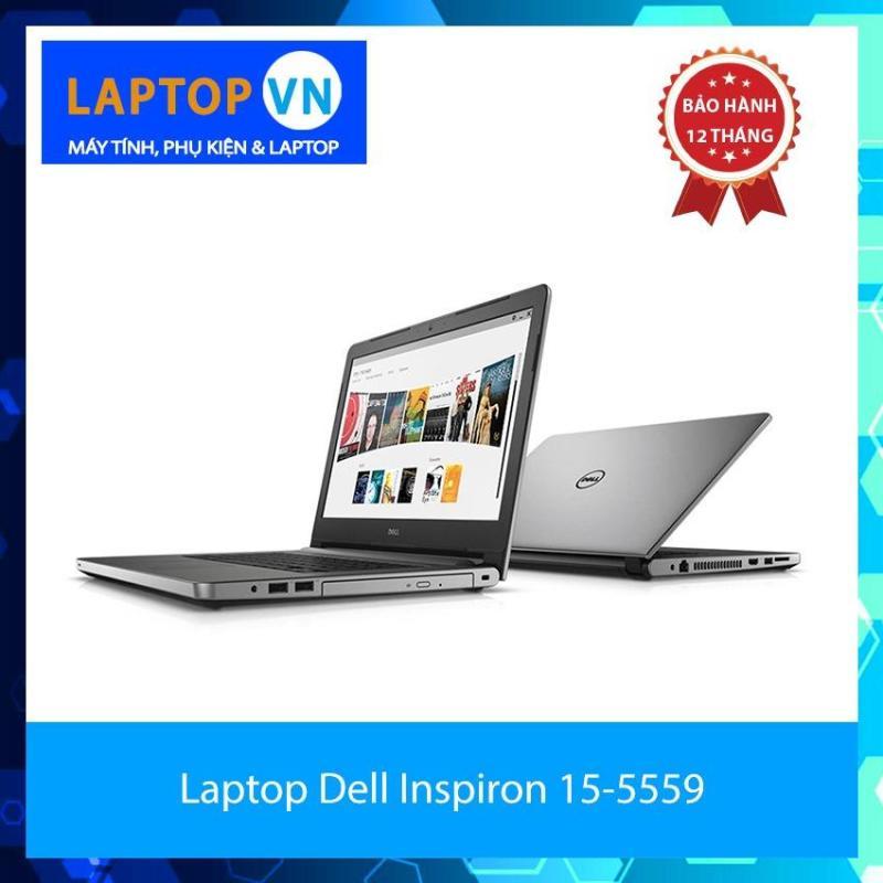 Laptop Dell Inspiron 15-5559 i7-6500U 8GB 1TB VGA 4GB 15.6 inches Bạc (Hàng nhập khẩu)(Bạc)