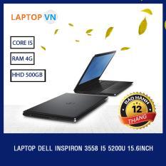 Laptop Dell Inspiron 3558 i5 5200U 15.6inch (Đen) – Hàng nhập khẩu
