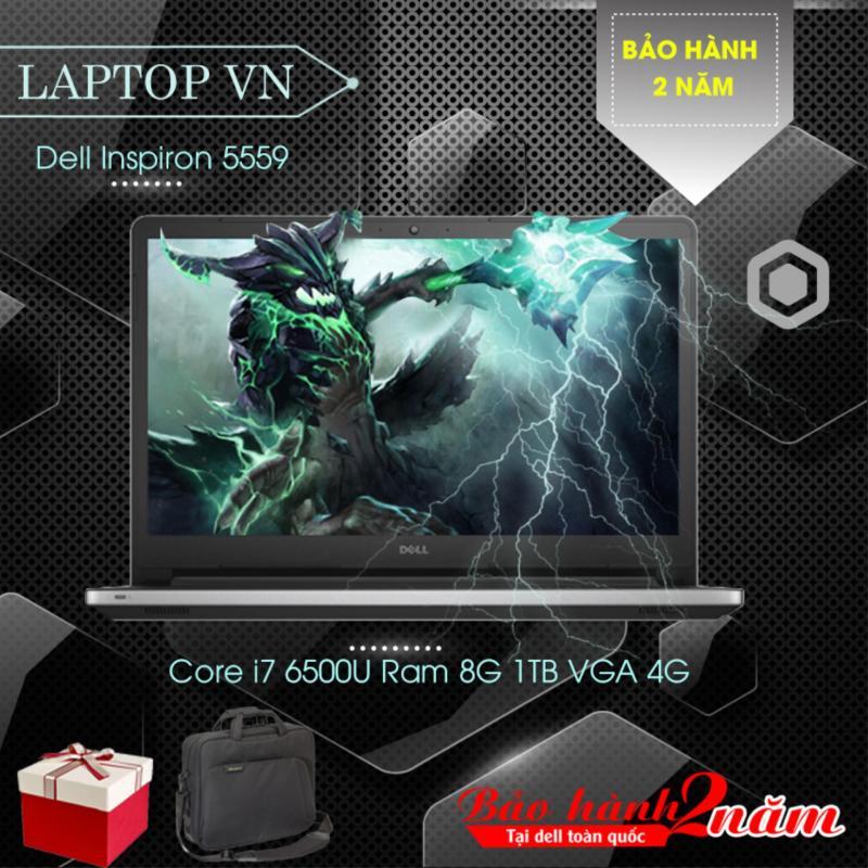 Laptop Dell Inspiron 5559 Core i7 6500U Ram 8G 1TB VGA 4G – Hàng nhập khẩu