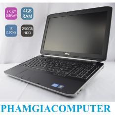 So Sánh Giá Laptop DELL Latitude E5520 Core i5 2520 Ram3 4G 250G 15.6in-Đen-Hàng Nhập khẩu-Tặng Balo chuột wireless.