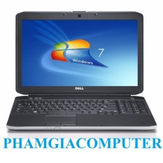 Laptop DELL Latitude E5530 Core i5 Ram3 4G 320G 15.6in-Đen-Hàng Nhập khẩu-Tặng Balo chuột wireless.