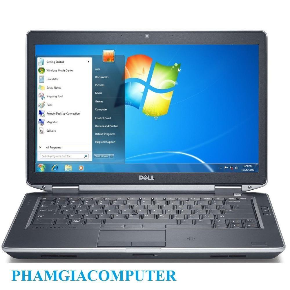 Laptop Dell Latitude E6420 Core i5 2520 4 nhân Ram3 4G HDD 250G 14IN - Hàng nhập khẩu-Tặng Balo +...