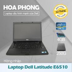 Laptop Dell Latitude E6510 Core i5 540 /4G/HDD 250G/ VGA HD/Màn 15.6inch – Hàng nhập khẩu