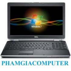 Laptop Dell Latitude E6520 Core i5 2520M Ram3 4G HDD 320G 15.6IN – Hàng nhập khẩu-Tặng Balo + chuột wireless