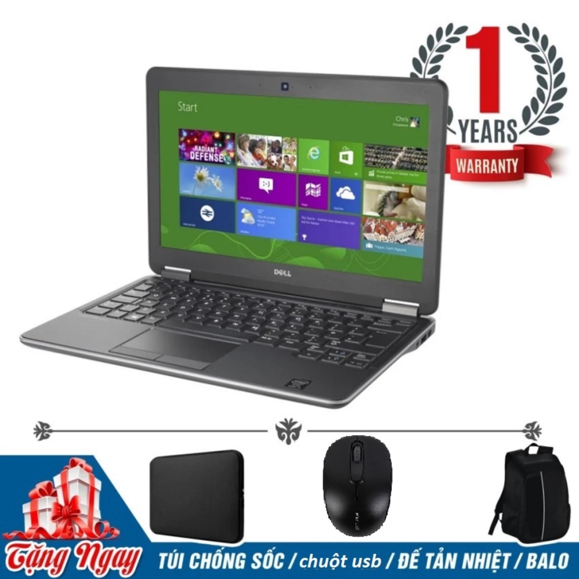 Đánh giá Laptop Dell Latitude E7240( i5-4300U, 12.5inch, 4GB,SSD 240GB ) + Bộ Quà Tặng – Hàng Nhập Khẩu Tại Siêu Thị Công Nghệ Việt
