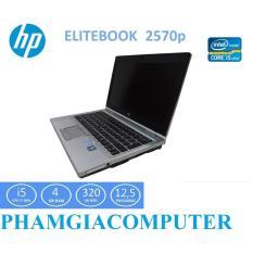 Laptop HP Elitebook 2570p Core i5 3210 4 nhân 4G/HDD 250G/LCD12.5in Vỏ Nhôm trắng – Hàng Nhập Khẩu-Tặng Balo, Chuột Wireless.
