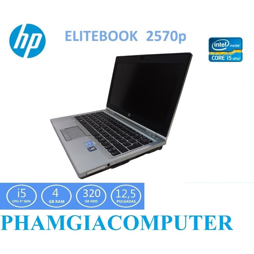 Laptop HP Elitebook 2570p Core i5 3210 4 nhân 4G/HDD 250G/LCD12.5in Vỏ Nhôm trắng - Hàng Nhập Khẩu-Tặng Balo, Chuột...