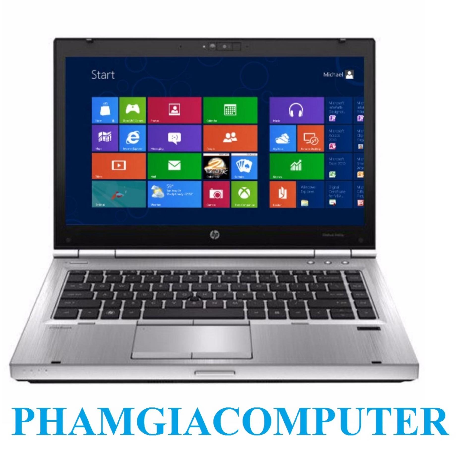 Laptop HP Elitebook 8460p Core i5 4 nhân Ram3 4G HDD 250G Vỏ Nhôm trắng nguyên khối- Hàng Nhập Khẩu-Tặng...
