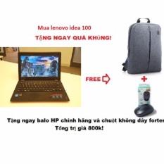 Laptop Lenovo idea100 i3 5005U 15.6inch + Tặng chuột không dây và balo