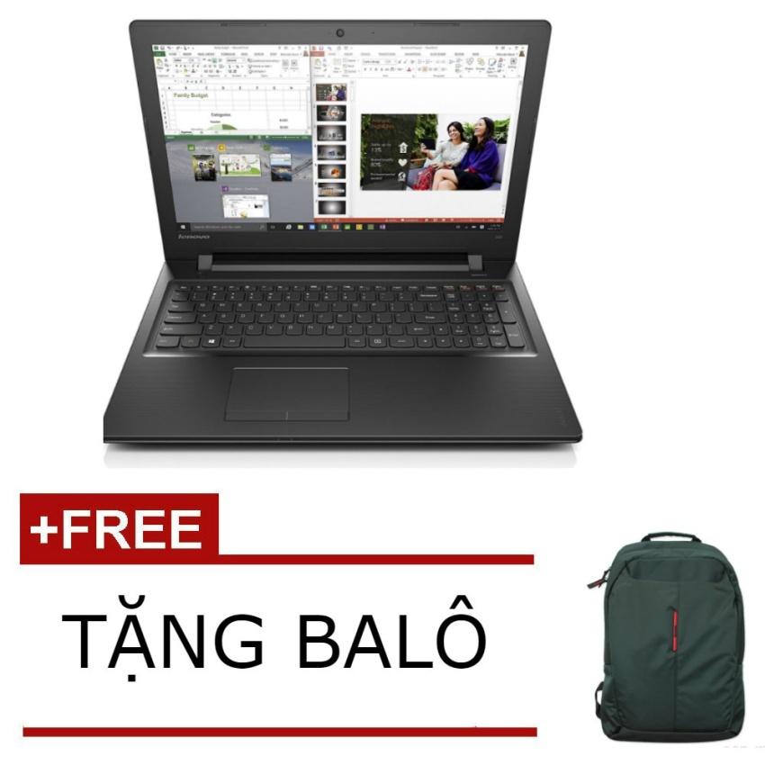 Laptop Lenovo IdeaPad 300 (Đen) - Hãng phân phối chính thức + Tặngbalô đựng laptop