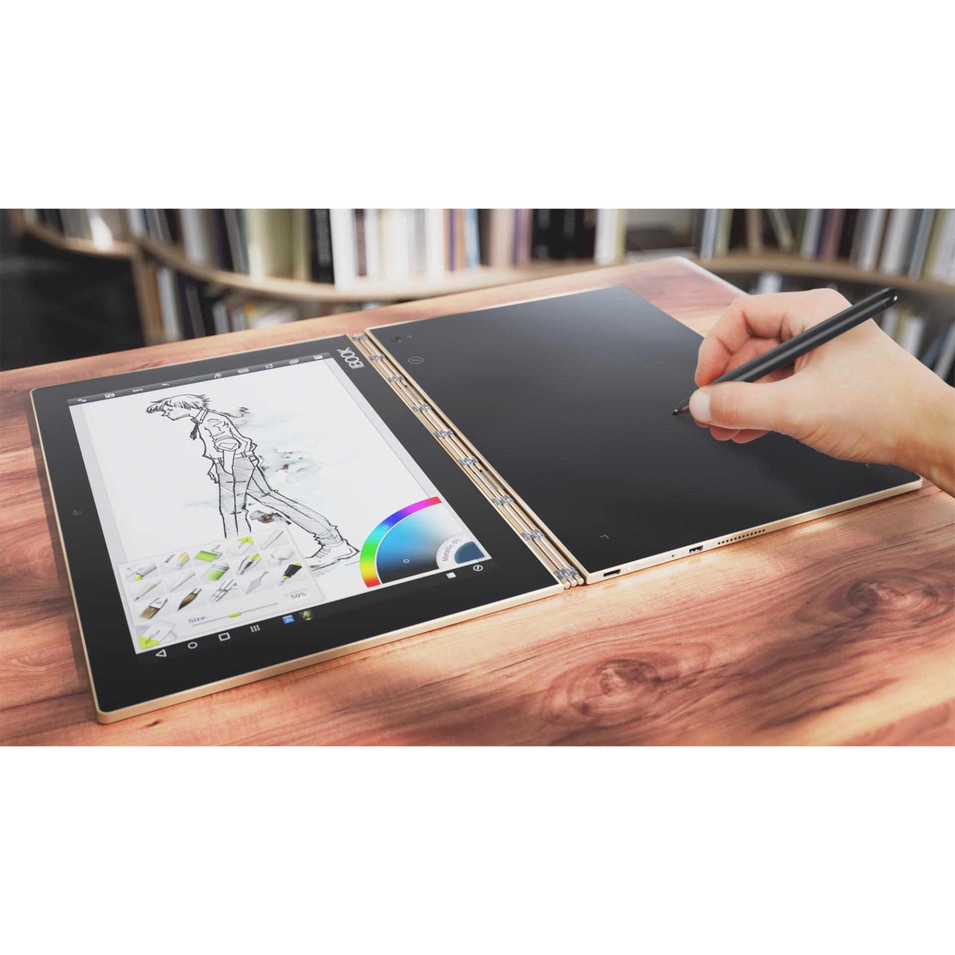 Lenovo Yoga Book – Windows, Màu Đen