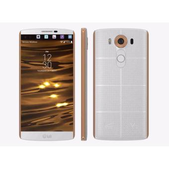 LG V10 (Trắng viền Gold) _ Hàng nhập khẩu