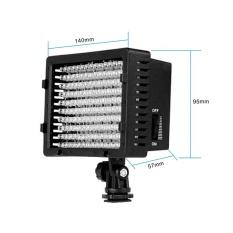 Lightdow Pro LD-160 ĐÈN LED Video Đèn Ánh Sáng cho Canon Nikon Máy Quay phim-quốc tế