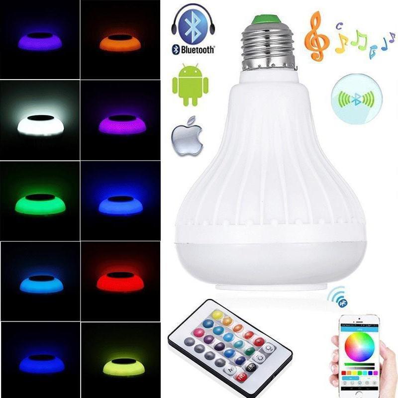 ... Loa Bluetooth có đèn Led E26 LED RGB +24 phím điều khiển ...