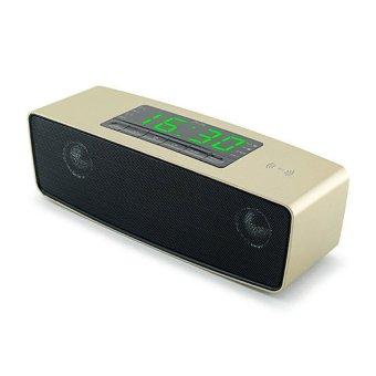 Loa Bluetooth đa năng đài FM JY-16 (Vàng)