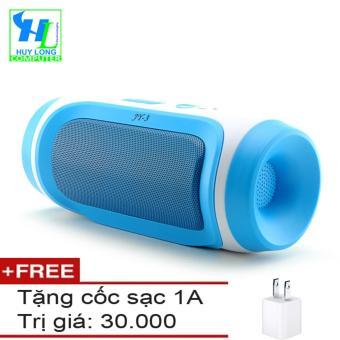Loa Bluetooth đa năng JY 3 (Màu Xanh Dương) + Tặng 1 cốc sạc 1A