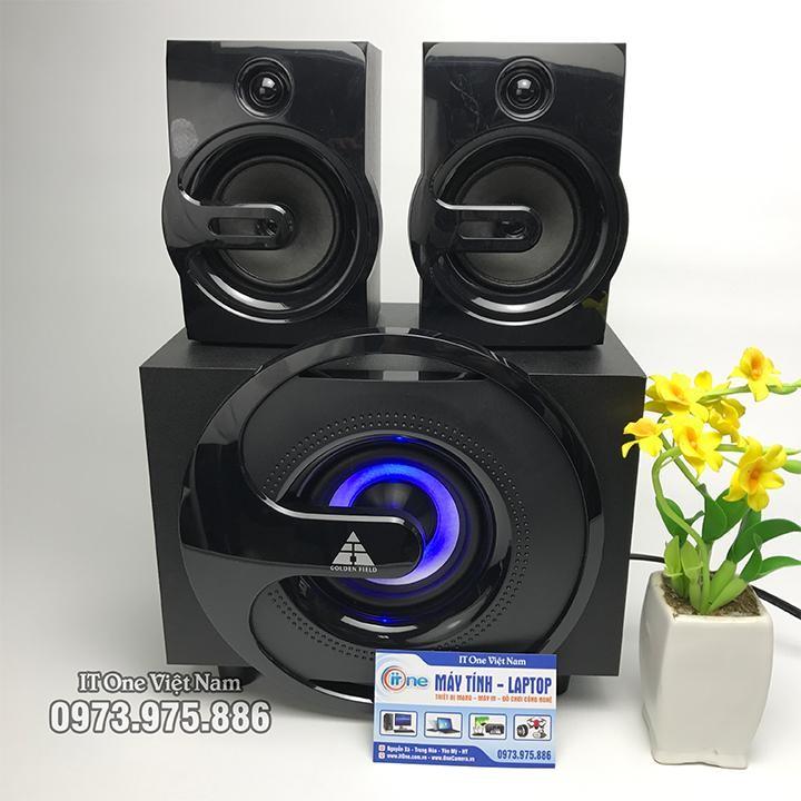 Loa Bluetooth, FM radio Golden Field H302U LED 7 màu