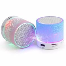 Loa Bluetooth HLD-600 mini có đèn LED nháy theo nhạc cực sành điệu