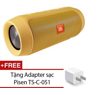 Loa Bluetooth JBL Charge 2+ (Vàng) + Tặng Adapter sạc PisenTS-C-051 - Hãng phân phối chính thức - 8208497 , JB570ELAA1KQIQVNAMZ-2576879 , 224_JB570ELAA1KQIQVNAMZ-2576879 , 4199000 , Loa-Bluetooth-JBL-Charge-2-Vang-Tang-Adapter-sac-PisenTS-C-051-Hang-phan-phoi-chinh-thuc-224_JB570ELAA1KQIQVNAMZ-2576879 , lazada.vn , Loa Bluetooth JBL Charge 2+ (Và