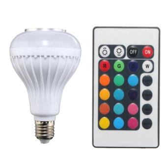 Loa Bluetooth Kiêm Bóng Đèn LED Đổi Màu