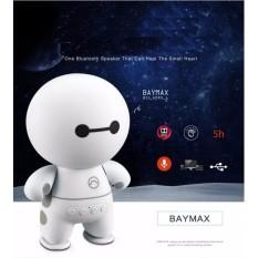 Loa Bluetooth Mini Hình Robot A9 Loa Bluetooth Cầm Tay Big Hero Speaker – Trắng