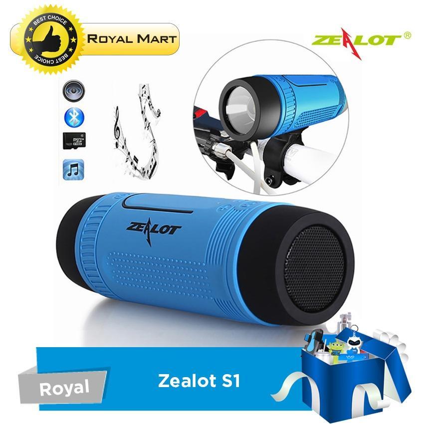 Loa Bluetooth Thể Thao Zealot S1 – Chuyên dùng cho môn xe đạp