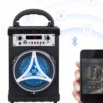 Loa Bluetooth trợ giảng và hát Karaoke xách tay đa năng kèm mic Daile S16