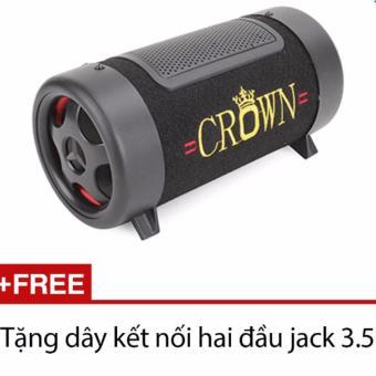 Loa Crown cỡ số 4 (Đen) + Tặng 1 dây kết nối hai đầu jack 3.5 - 8107513 , CR804ELAA33FGSVNAMZ-5390547 , 224_CR804ELAA33FGSVNAMZ-5390547 , 299999 , Loa-Crown-co-so-4-Den-Tang-1-day-ket-noi-hai-dau-jack-3.5-224_CR804ELAA33FGSVNAMZ-5390547 , lazada.vn , Loa Crown cỡ số 4 (Đen) + Tặng 1 dây kết nối hai đầu jack 3.5