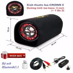 Loa Crown5 +Bô USB bluetooth 5.1 cho dàn âm thanh không dây