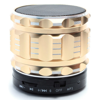 Loa di động Bluetooth S28 (Vàng)