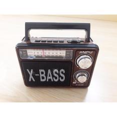 Loa di động kiêm radio chuyên dụng 3 băng tần X-BASS (có đèn Pin siêu sáng)