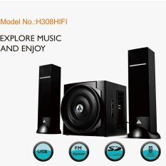 Loa Golden Field H308 HIFI/2.1(usb, Bluetooth,SD,FM)
