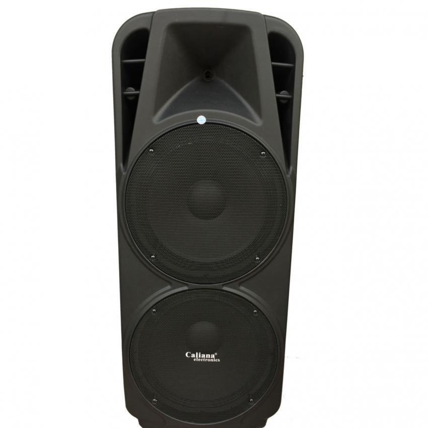 Chi tiết sản phẩm Loa Kéo Bluetooth Caliana TX215F 4 tấc đôi (Đen)
