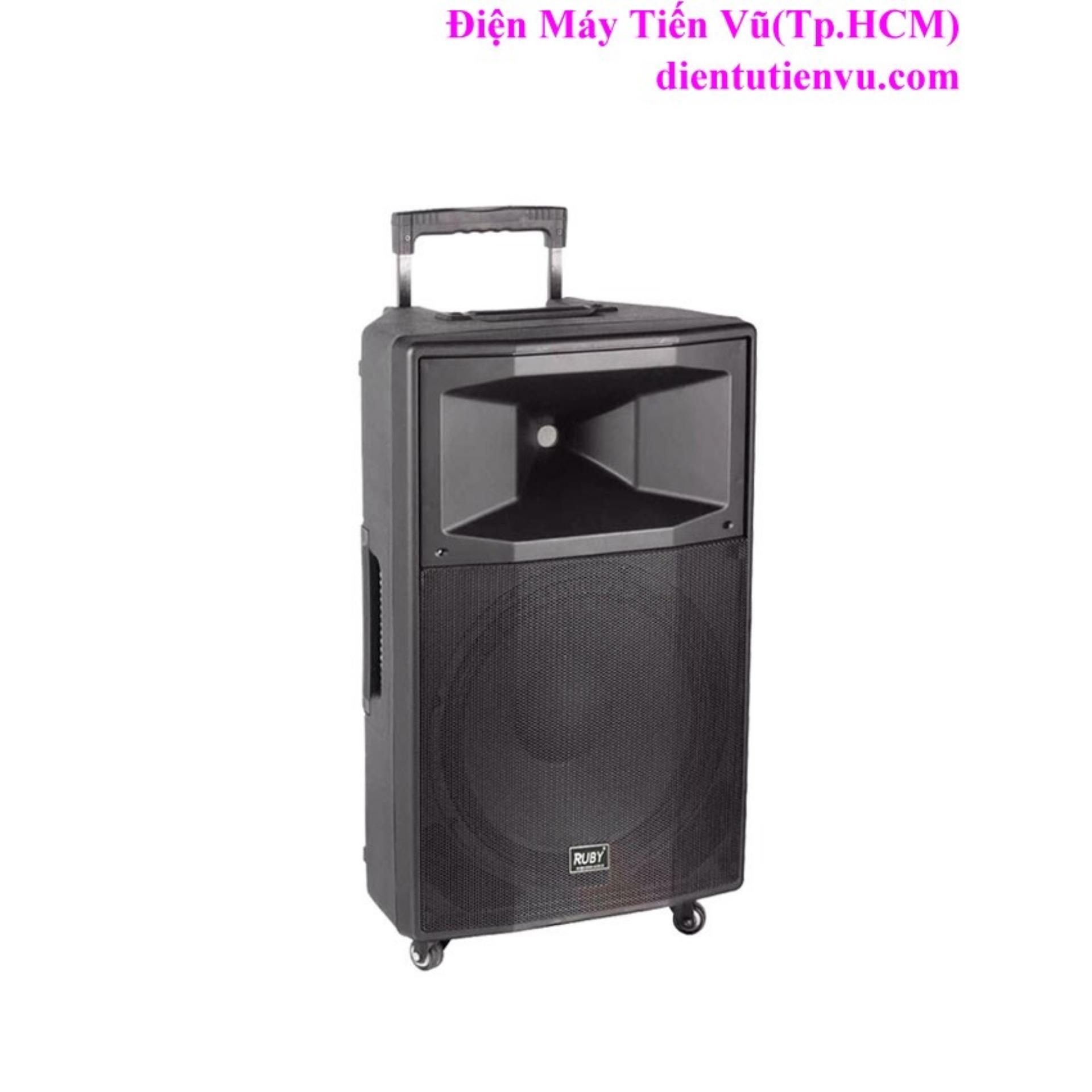 Cách mua Loa kéo Bluetooth Ruby R-1508A bass 4 tấc(Đen)