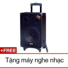 Giá Niêm Yết Loa kéo Temeisheng Q-10S (1Micro) + Tặng 1 máy MP3 đọc thẻ nhớ