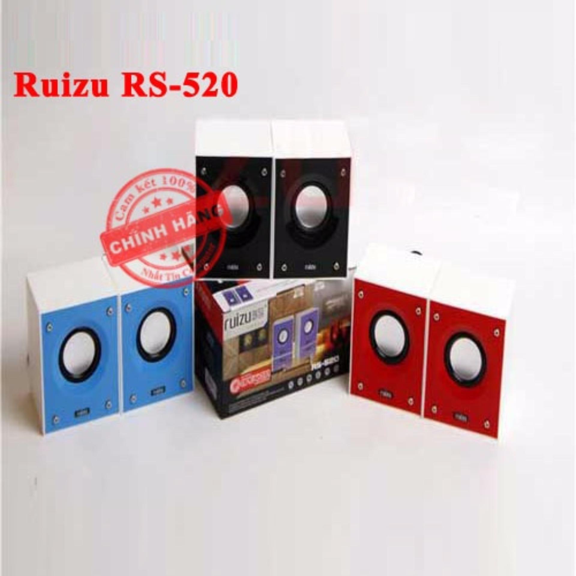 Giá Loa máy tính 2.0 Ruizu RS-520 (Nhiều màu) – Hãng phân phối chính thức