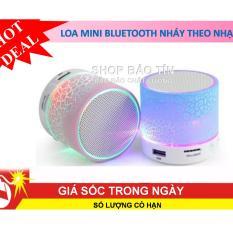 Loa mini bluetooth HLD-600 led nháy theo nhạc  ( giao mầu ngẫu nhiên )
