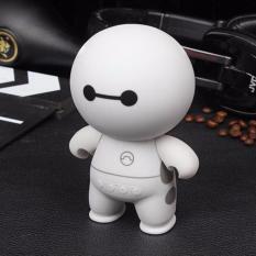 Loa Music A9 Bluetooth Mini Hình Robot (Trắng)