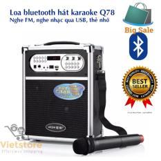 Cửa hàng bán Loa Nghe Nhac May Tinh Hay Nhat – Bán loa Daili AQ78KD1973, Loa Nghe Nhac Mp3 Mini – Loa Bluetooth Karaoke di động + Tặng Mic Không Dây Cao Cấp, Bảo hành uy tín 1 đổi 1 bởi Lazada