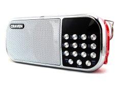 Loa nghe nhạc USB Craven CR-22 (Đỏ)