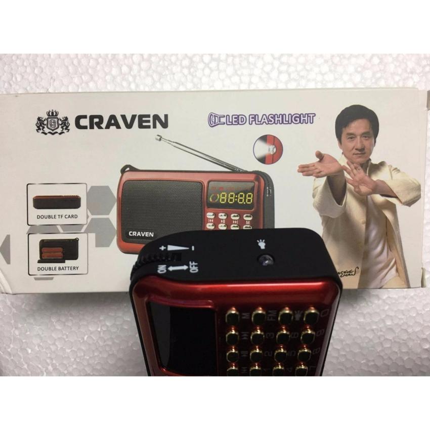 Loa nghe niệm phật, nghe nhạc , thẻ nhớ, đài FM Craven CR-82A