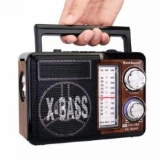 LOA NHẠC KN-162URT AM / FM Radio với SW MP3 Player Đèn pin Loa