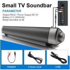 Loa siêu trầm 4 loa cao cấp Sound bar Brilliant IP-08 (Xám đen)