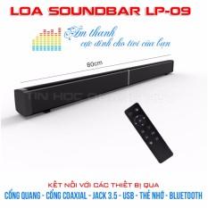 Loa SoundBar LP09 – Loa tivi cực chất – Kết nối cổng quang, Bluetooth, USB, Thẻ nhớ, jack 3.5